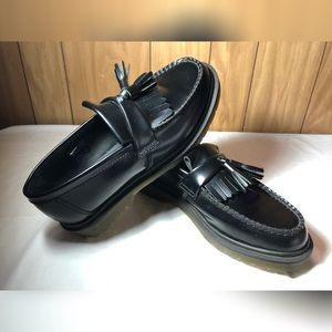 2518e9fb811 Dr. Martens Shoes - Dr. Martens Adrian Smooth Black Loafers